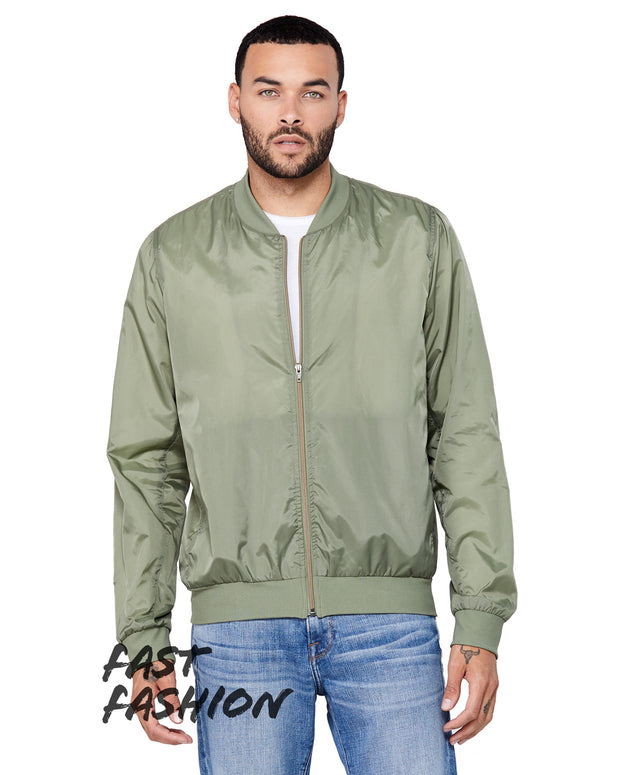 Olive Green - Bomber Jacket