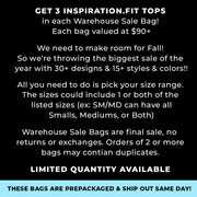 Warehouse Sale Bag