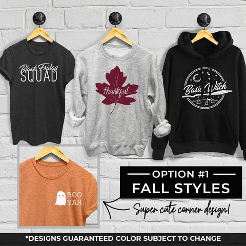 Limited Edition Autumn Grab Bag - Option 1 Designs
