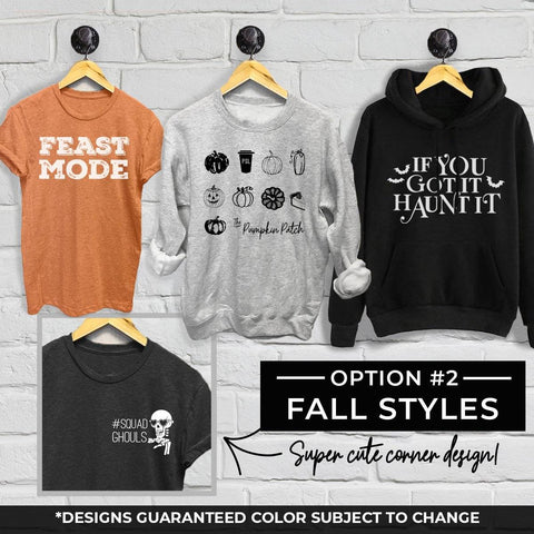 Limited Edition Autumn Grab Bag - Option 2 Designs