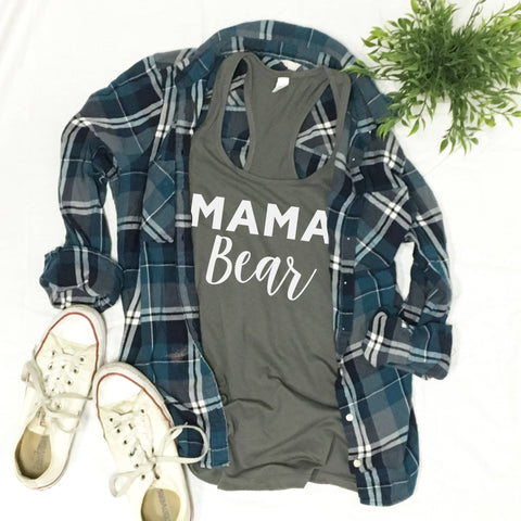 Mama Bear - Fitted Tank