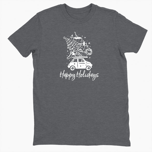 Happy Holidays - Unisex Crewneck Tee