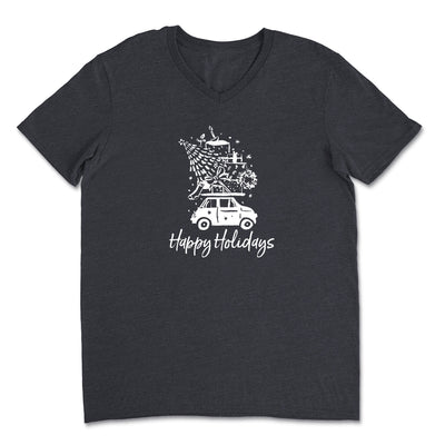 Happy Holidays - Unisex V-Neck