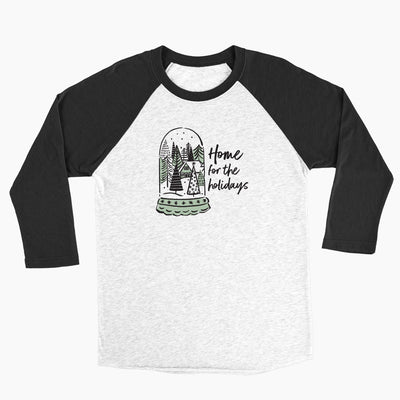 Home for the Holidays - Unisex Baseball Tee