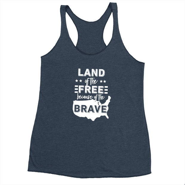Land of the Free - Flowy Tank