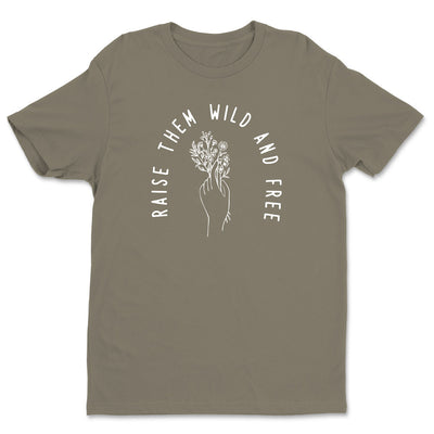 Raise Them Wild and Free - Unisex Crew