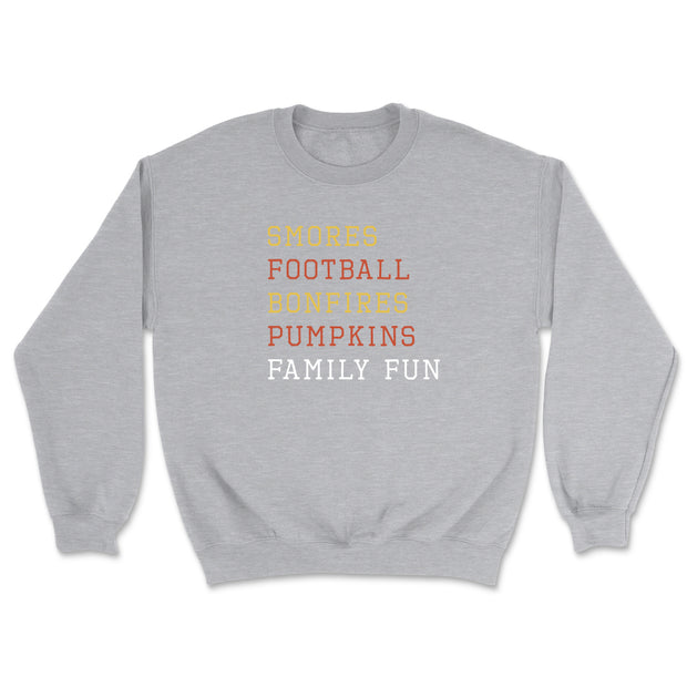 Smores Football Bonfires - Sweatshirt