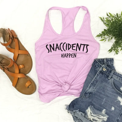 Snaccidents Happen - Fitted Tank