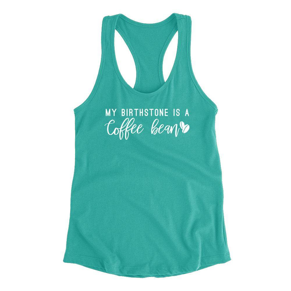 Birthstone: Coffee Bean- Fitted Tank
