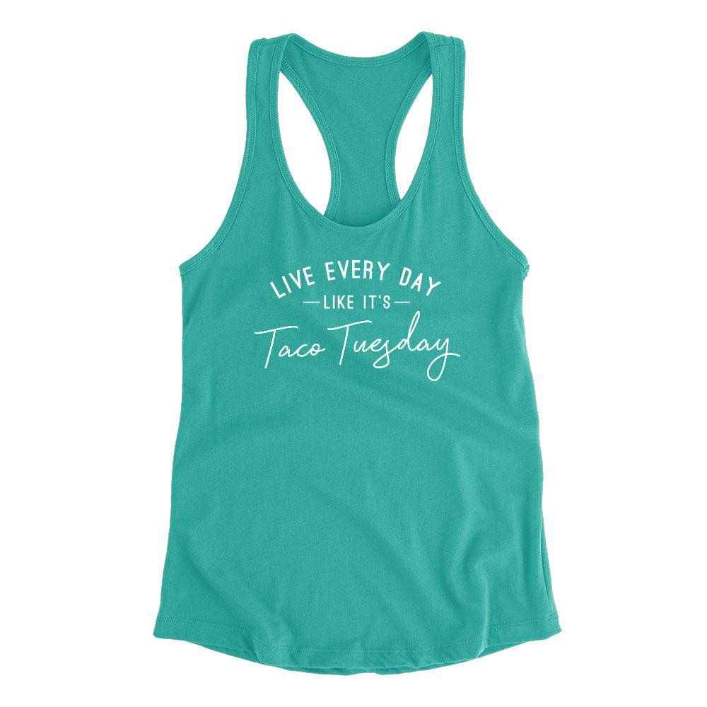 Live Every Day - Fitted Tank