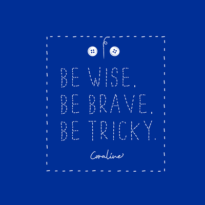 Be Wise, Be Brave, Be Tricky - Unisex V-Neck