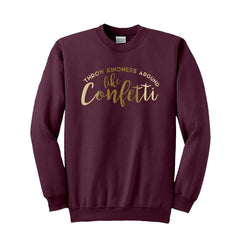 Confetti Boyfriend Fit Sweatshirt