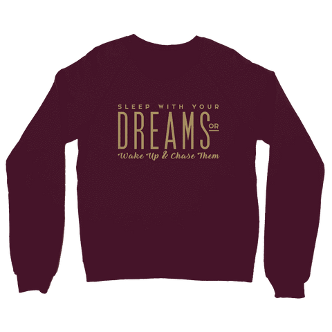 Sleep With Your Dreams Boyfriend Fit Sweatshirt