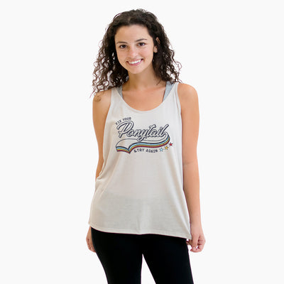 Fix Your Ponytail Retro - Relaxed Tank
