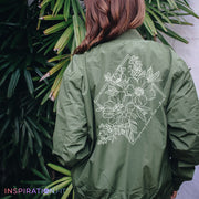 Happiness Blooms From Within - Bomber Jacket