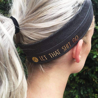 Headband - Let That S*** Go Headband