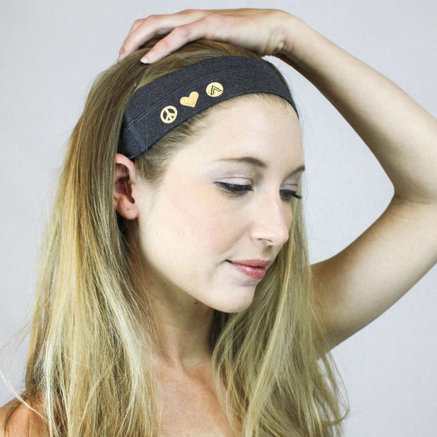 Headband - Peace & Love Headband