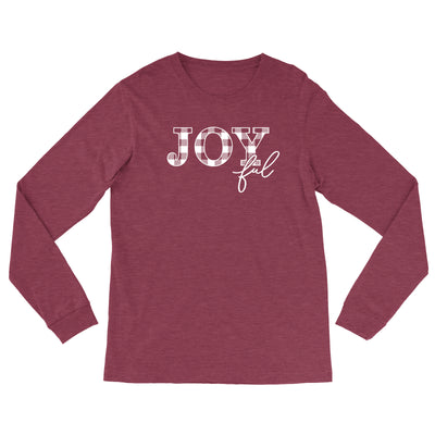 Joyful - Bella Canvas Long Sleeve