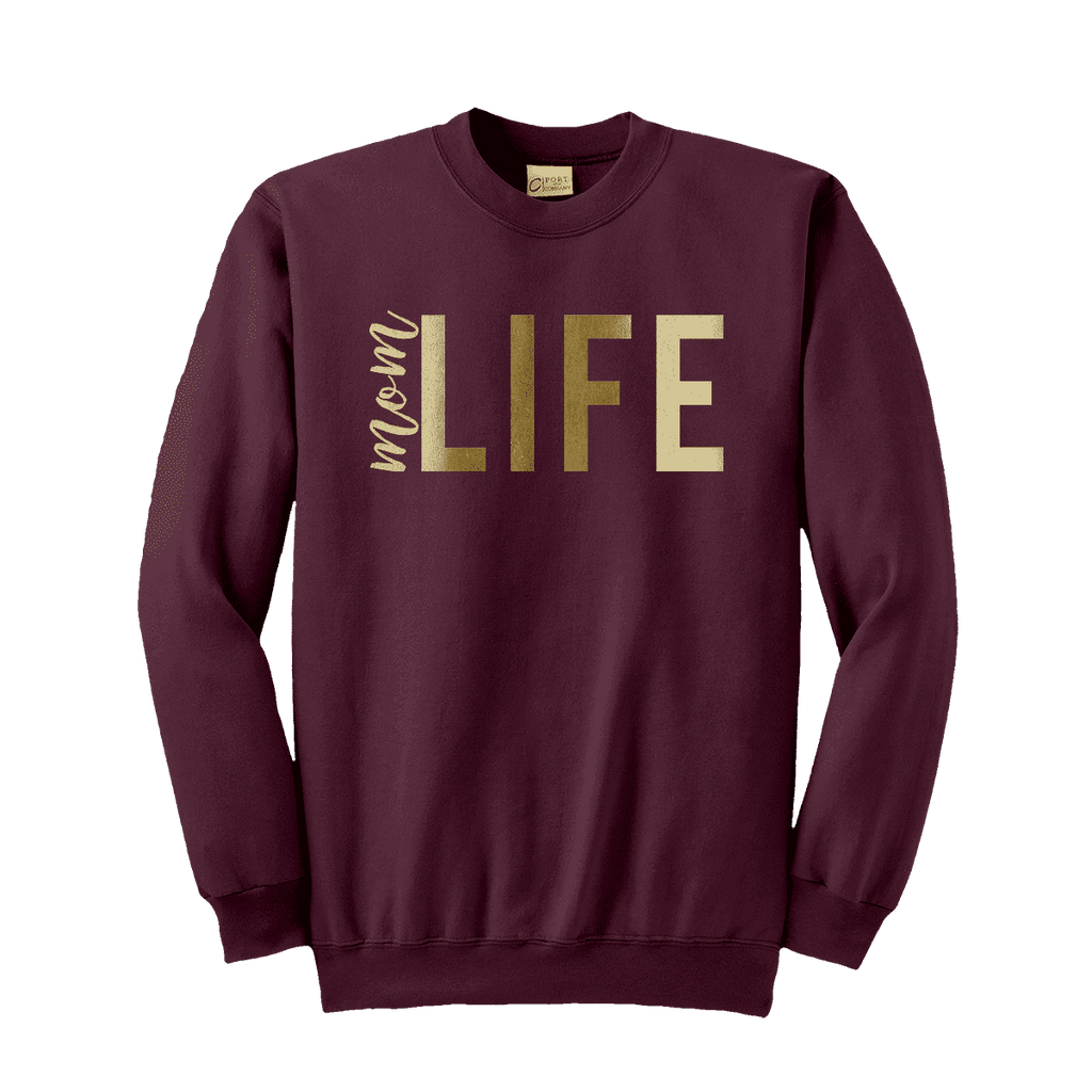 Mom Life Boyfriend Fit Sweatshirt