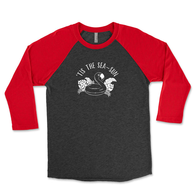 Tis The Season Football - Baseball Tee
