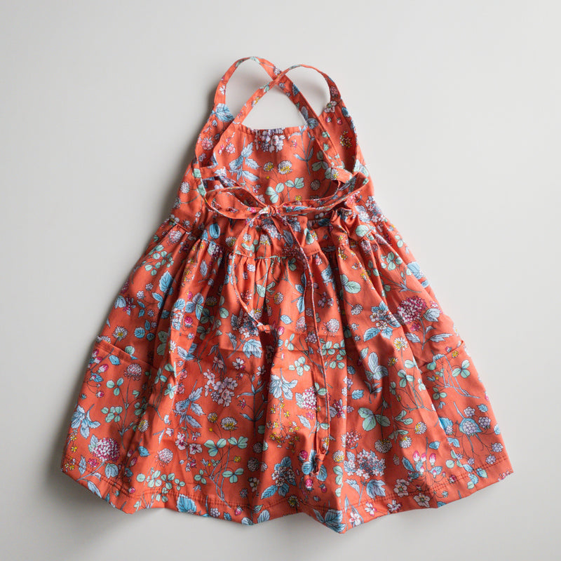 Freya Dress with Market Pockets in 'Bittersweet Floral and Berries'- Ready To Ship