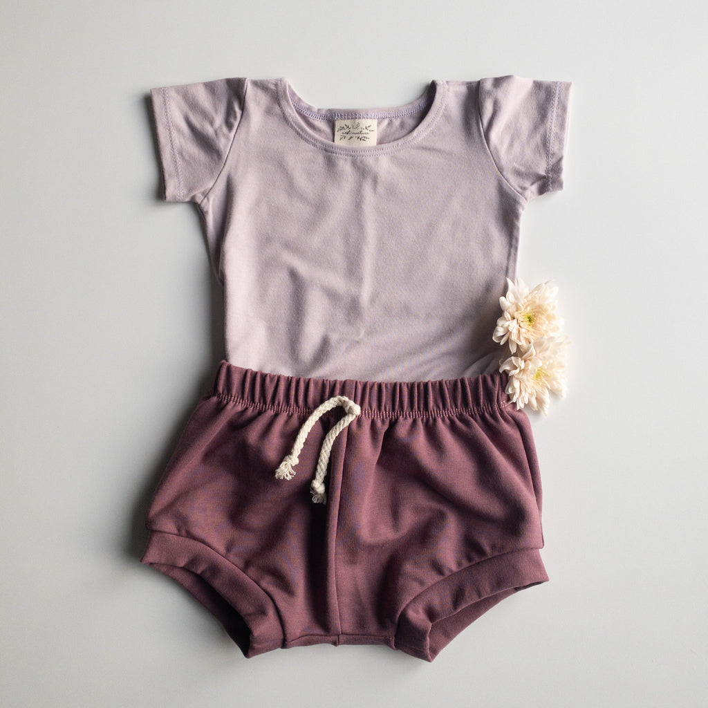 Hallie Top in 'Lavender' - Ready To Ship