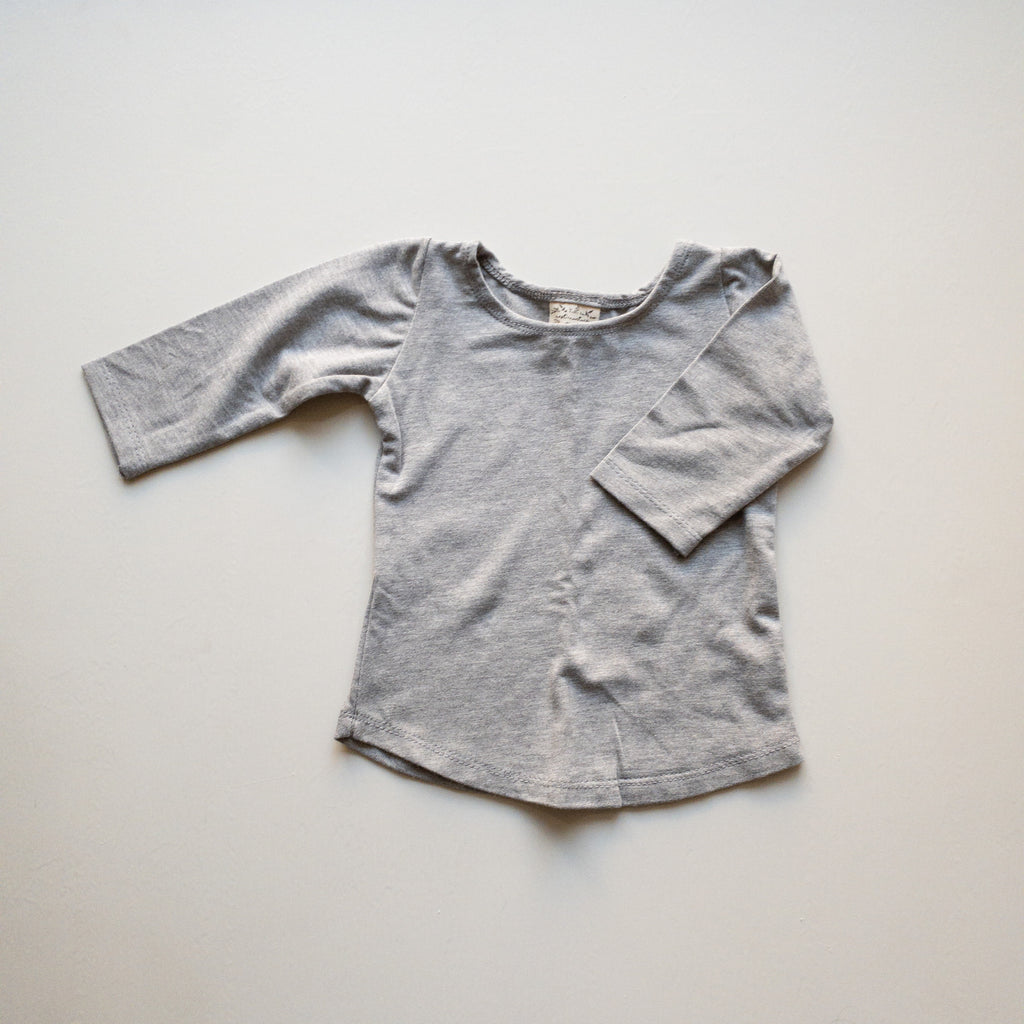 Molly Ballet Shirt in 'Granite' - Ready To Ship