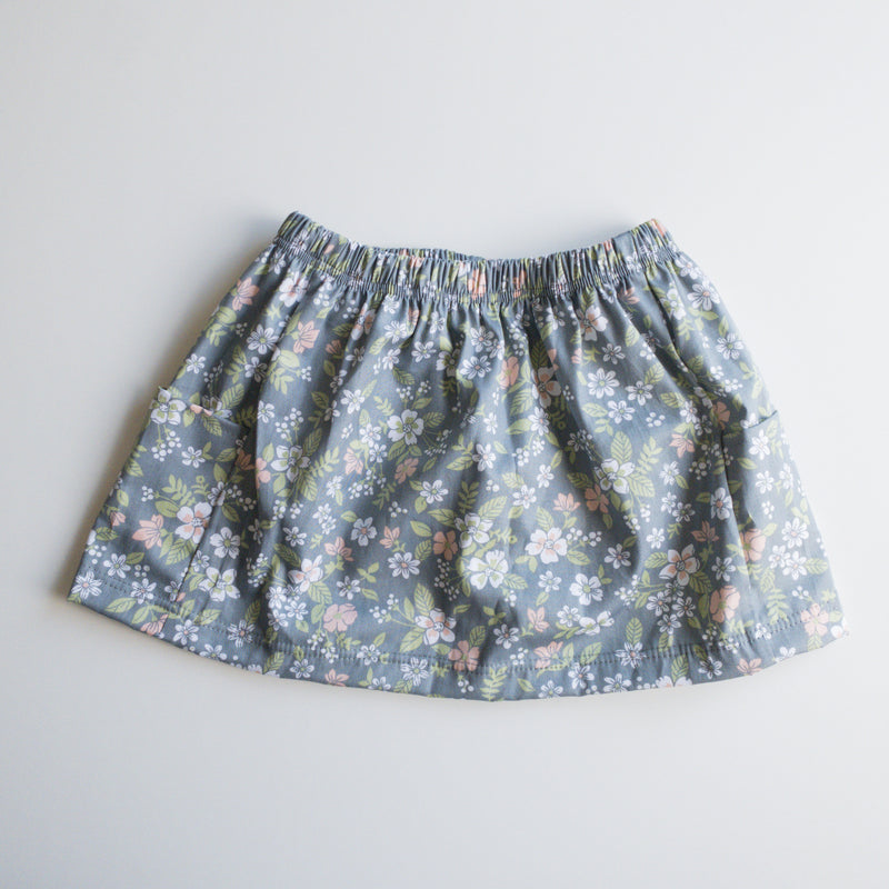 Christiana Skirt in 'Grey Magnolia- Ready To Ship