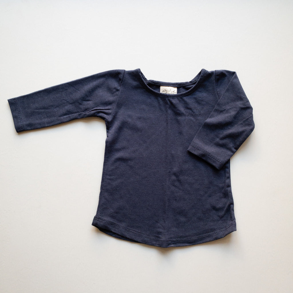 Molly Ballet Shirt in 'Deep Sea' - Ready To Ship
