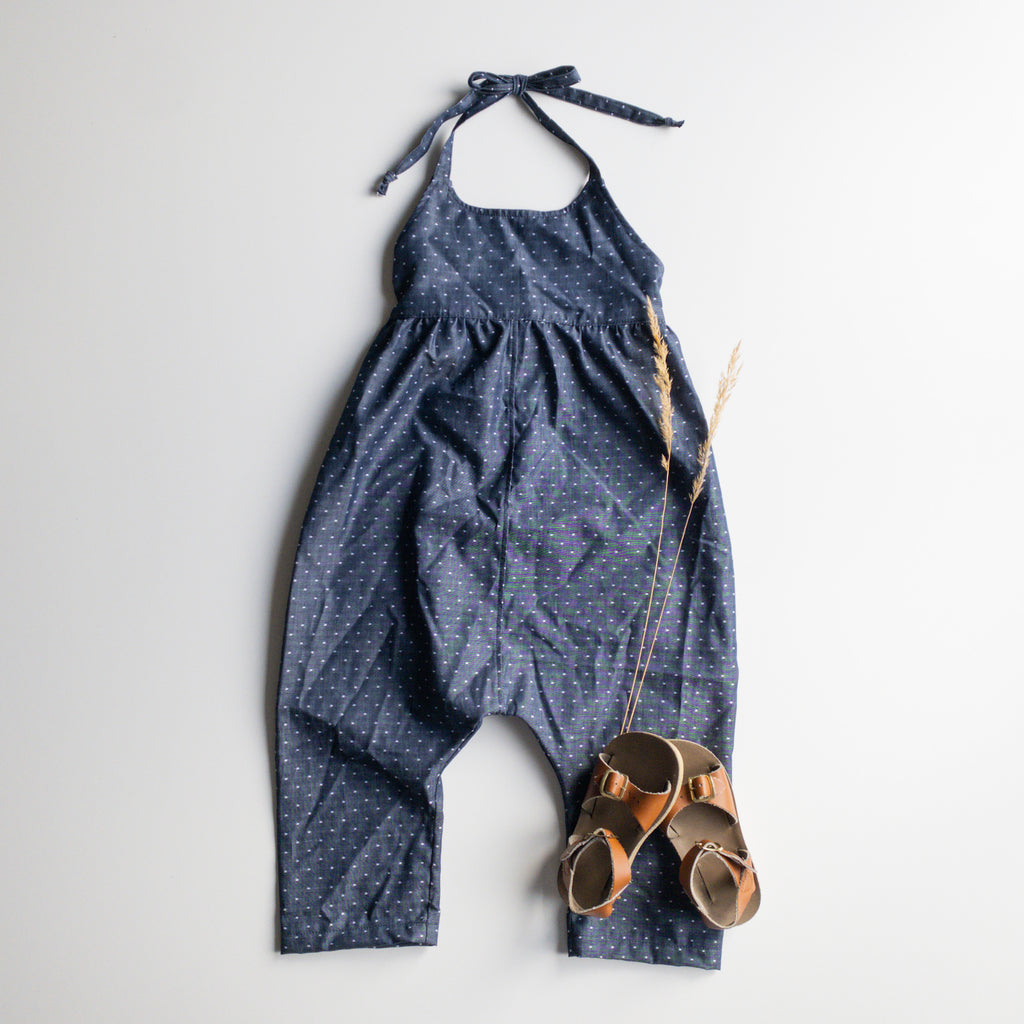 "Jane Jumper in 'Dotty Chambray"" - Ready to Ship"