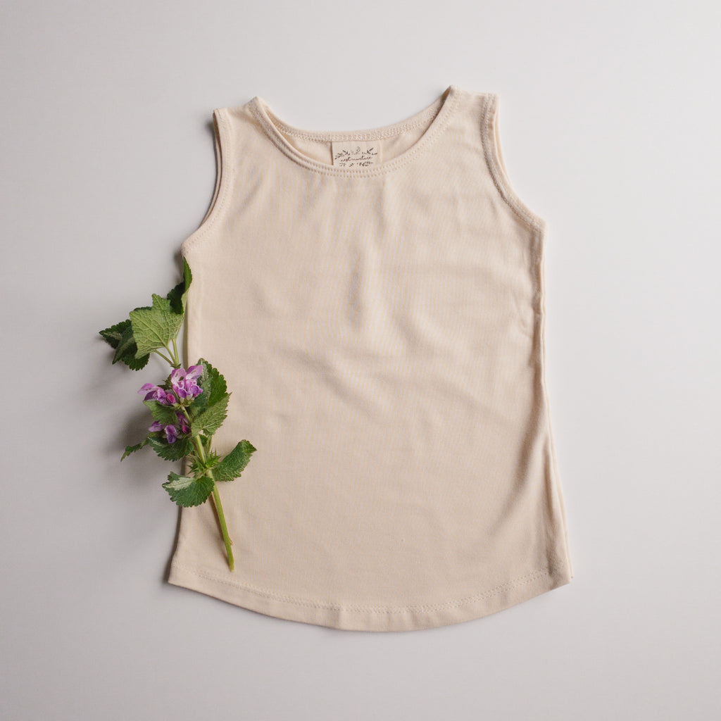 August Tank in 'Natural' - Ready To Ship