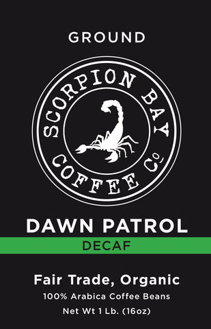 DECAF DAWN PATROL - Dark Roast