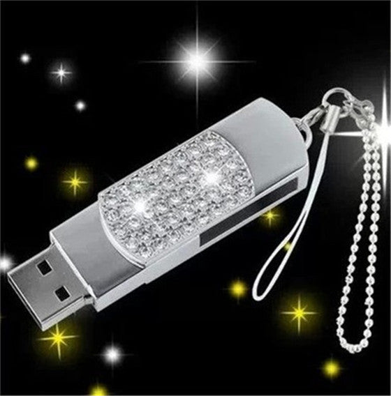 100% real capacity Crystal diamond heart necklace usb 2.0 flash drive/creativo pendrive/creativo memory Stick/Disk girl Gift S30
