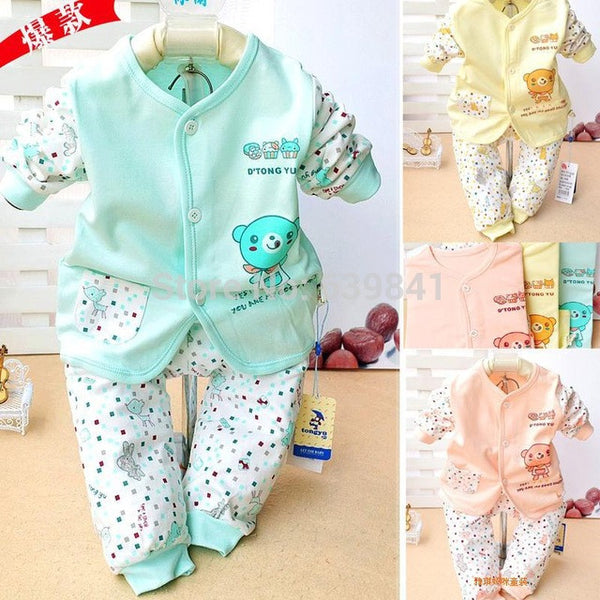 2015 new baby clothing 100% cotton baby girl clothes 3 colors baby boy clothes newborn clothing china enfant set baby kleding