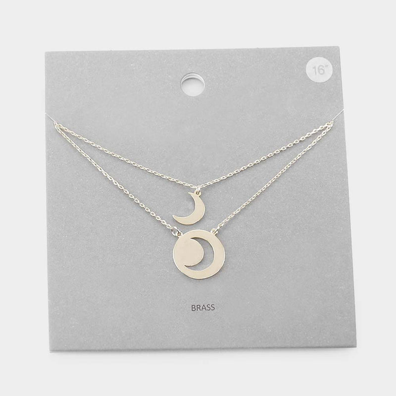 Lunar Cycle Duality Necklace
