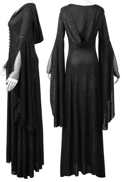 Theater Of Tragedy Gothic Black Dress