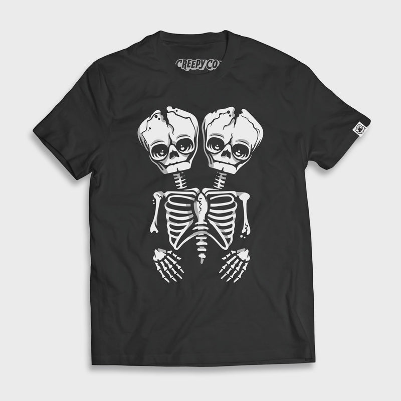 Conjoined Skeletwins T-Shirt