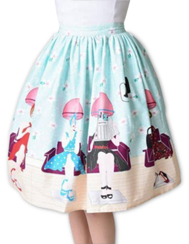 Pastel Beauty Shop Skirt