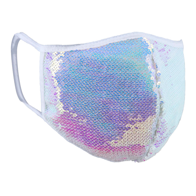 Reversible Sequin Face Mask
