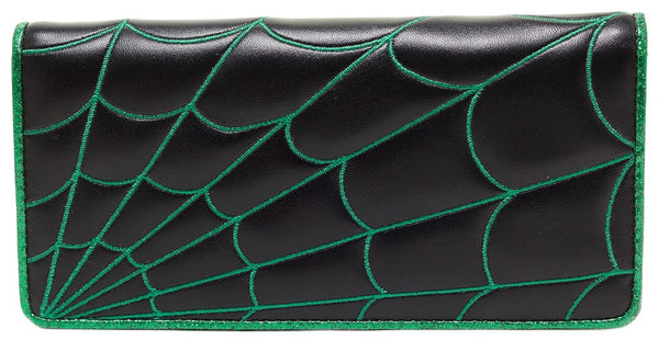 Sourpuss Spiderweb Wallet