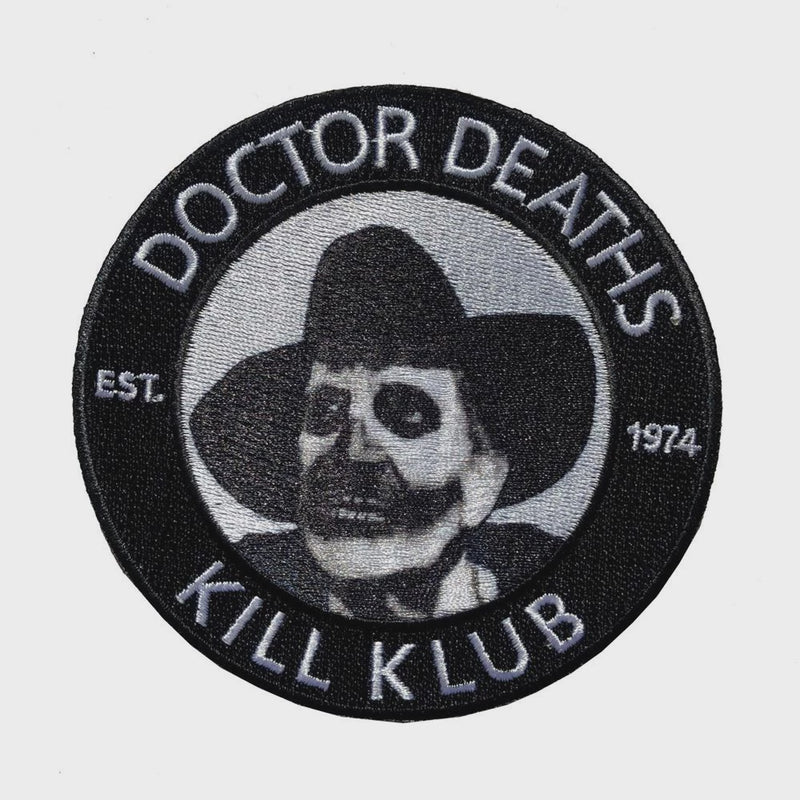 Dr. Death's Kill Klub Patch
