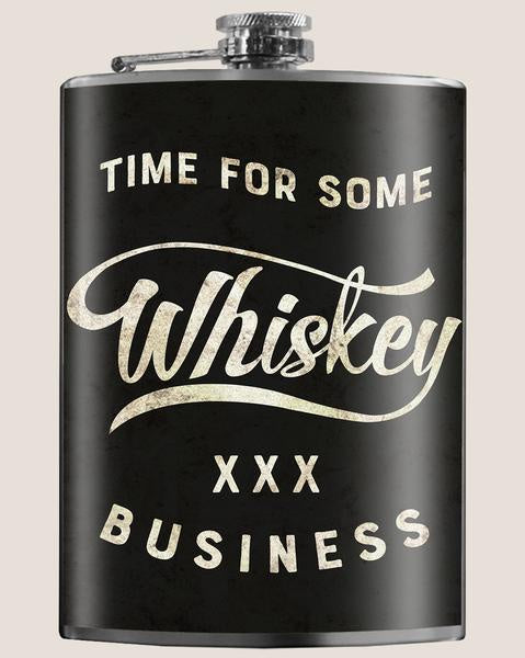 Whiskey Business Flask