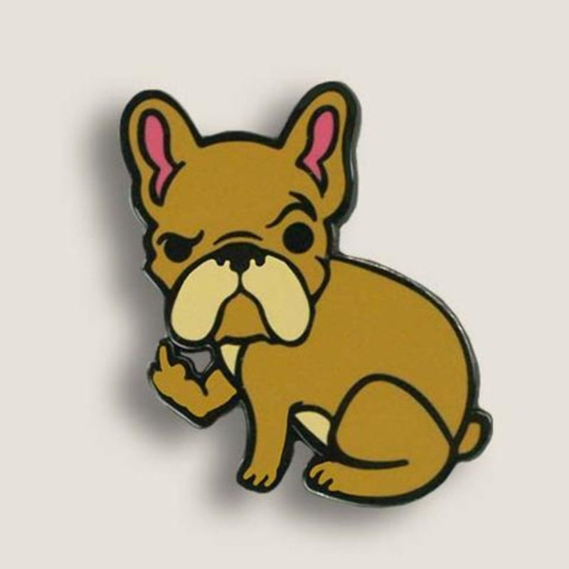 Rude Frenchie Pin