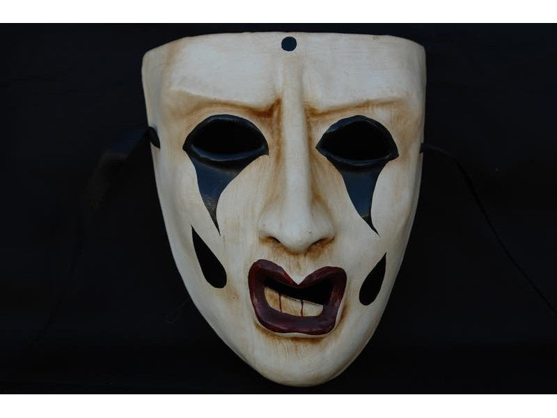 Distressed Harlequin Mask