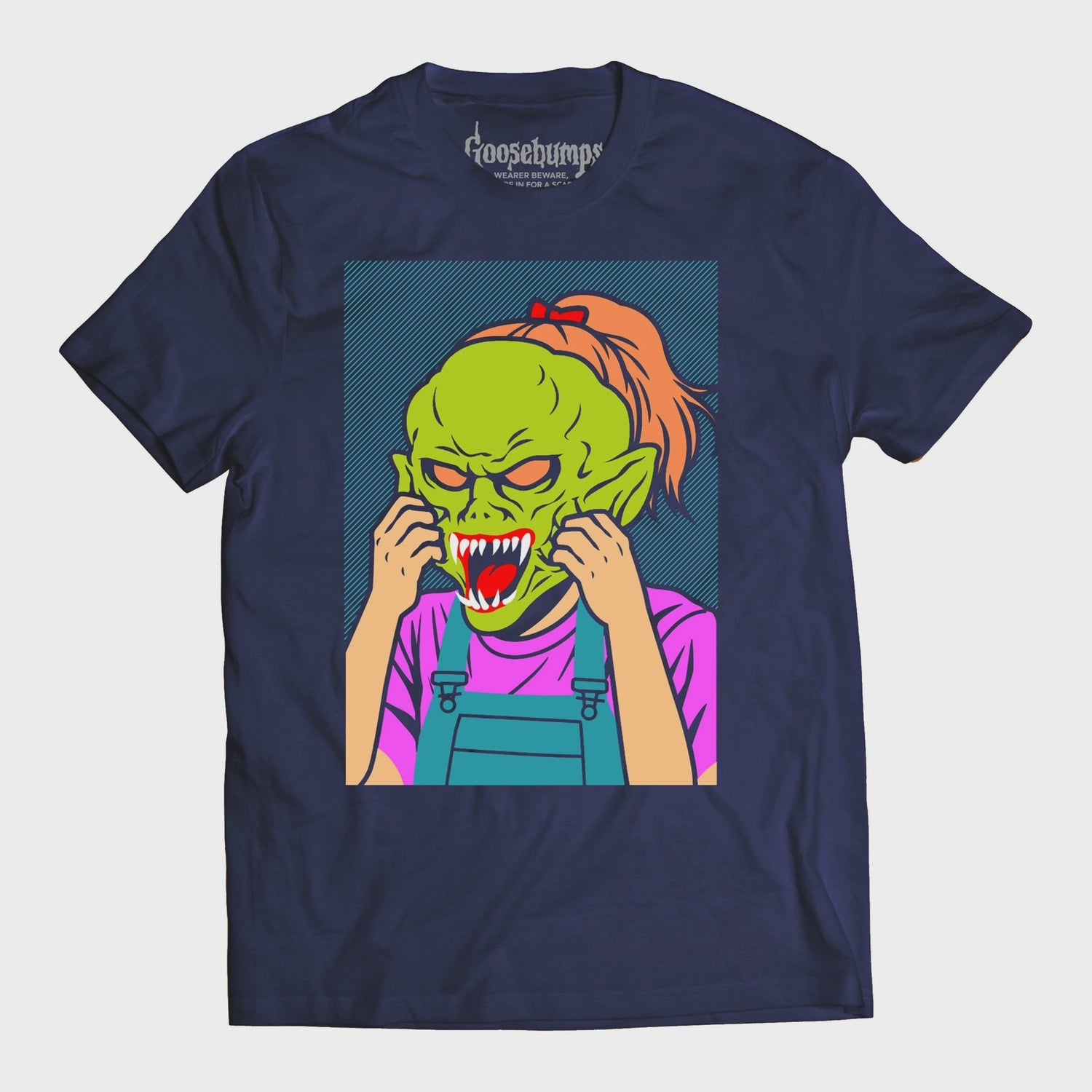 Goosebumps Face Off T-Shirt