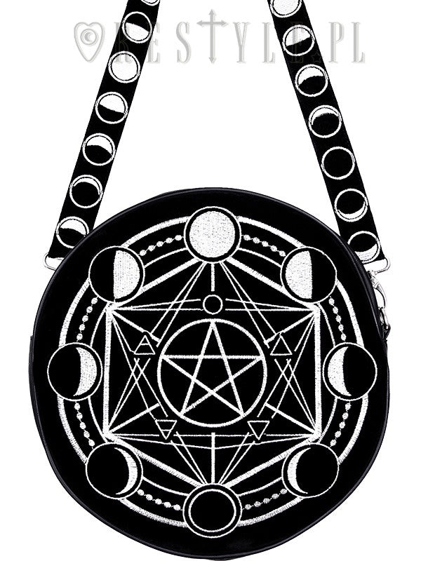 Moon Phases Circle Bag