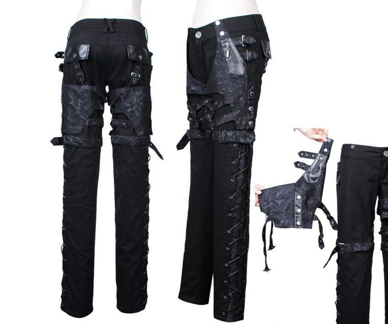 West World Black Unisex Pants| Gothic