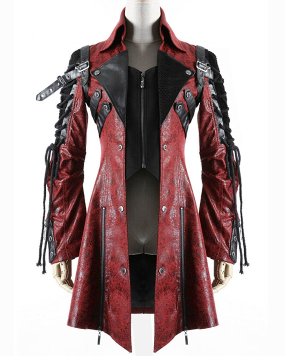 Blade Men's Coat in Red