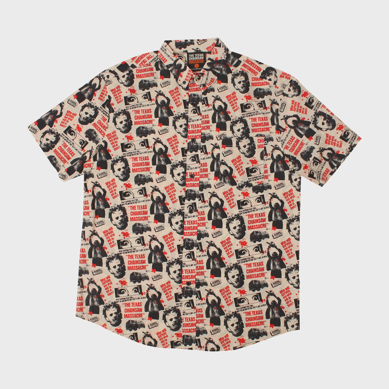 Texas Chainsaw Massacre Unisex Button-Up