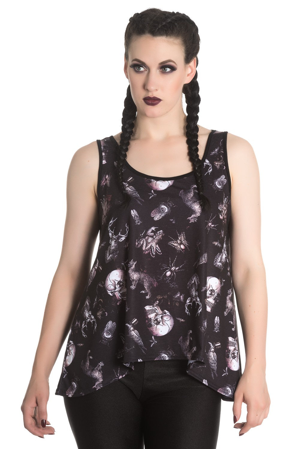 Midnight Wildlife Top